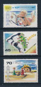 Aruba 1987 Kinderzegels NVPH 34-36