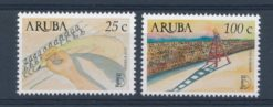Aruba 2002 America zegels UPAEP 2002 Campagne tegen analfabetisme  NVPH 286-87