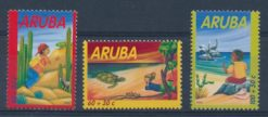 Aruba 2002 Kinderzegels  NVPH 291-93