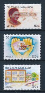 Aruba 2007 50 jaar Casa Cuna kinderopvanghuis NVPH 373