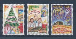 Aruba 2004 Decemberzegels NVPH 327-29