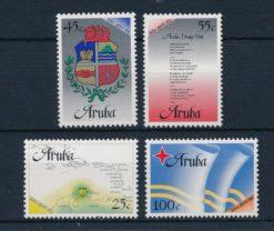 Aruba 1986 Status aparte NVPH 1-4