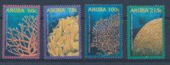Aruba 2005 Koraal NVPH 348-51