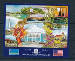 Aruba 2006 Blok Filatelistische tentoonstelling Washington 2006 NVPH 360