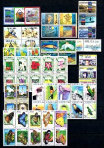 Aruba 2010 Complete jaargang postzegels postfris
