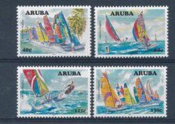 Aruba 2007 Catamaran Regatta NVPH 384-87