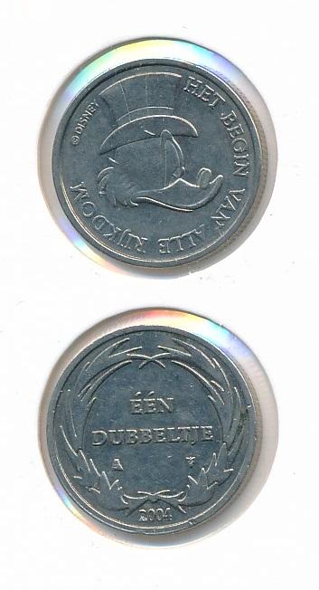 Geluksdubbeltje 2004 Dagobert