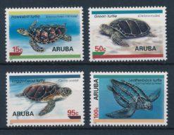 Aruba 1995 Beschermde zeeschildpadden NVPH 164-67