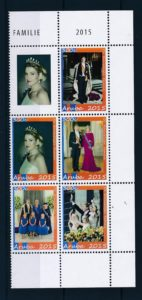 Aruba 2015 de Koninklijke familie NVPH 788-92