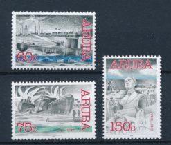 Aruba 2002 Historische zegels NVPH 288-90