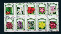 Aruba 2010 Bloemen NVPH 472-81