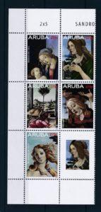 Aruba 2015 Botticelli NVPH 807-11