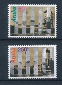 Aruba 1998 200 jaar Fort Zoutman NVPH 207-08