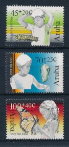 Aruba 1986 Kinderzegels NVPH 18-20