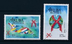 Aruba 2000 America zegels UPAEP 2000 Anti aids NVPH 247-48