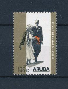 Aruba 1987 Jubileumzegel 50 jaar huwelijk NVPH 21