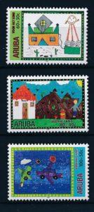 Aruba 2000 Kinderzegels NVPH 257-59
