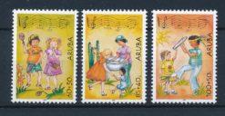 Aruba 2004 Kinderzegels Muziek NVPH 324-26