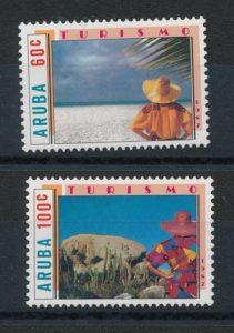Aruba 1987 Toerisme NVPH 28-29