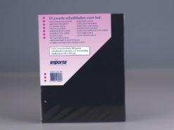 Importa - 10 zwarte populair schutbladen