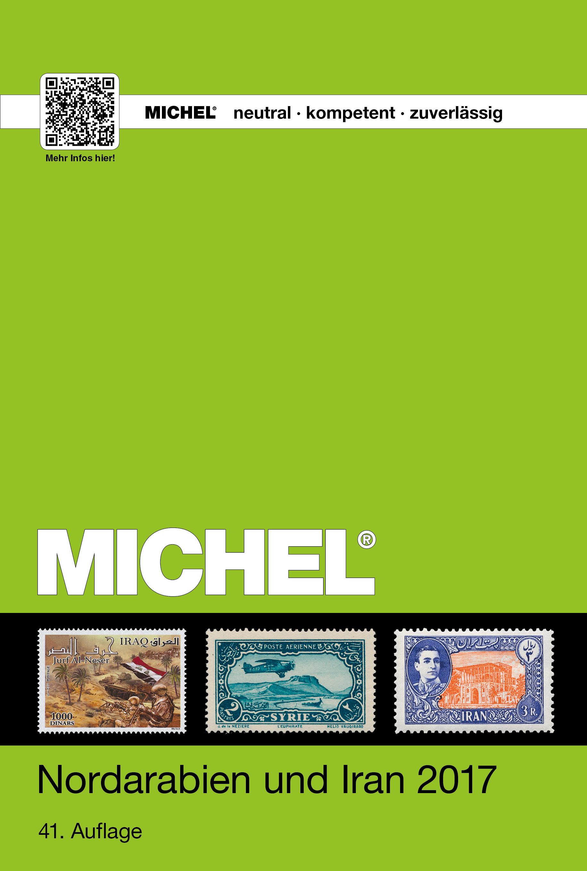 Michel Postzegelcatalogus Noord Arabie en Iran - Band UK10/1 - Editie 2017
