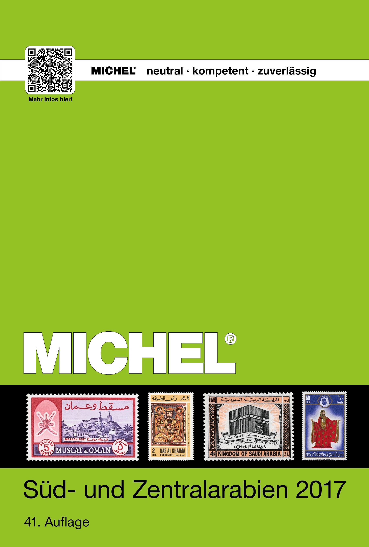 Michel Postzegelcatalogus Zuid- en Centraal Arabie - Band UK10/2 - editie 2017