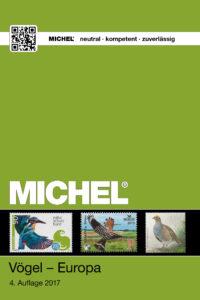 Michel Motief Postzegelcatologus Vogels Europa Editie 2017