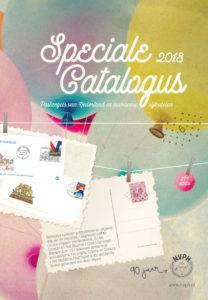 NVPH Speciale postzegel catalogus Nederland en Overzee 2018 met gratis blauwdruk en verrassing