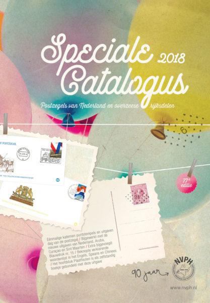NVPH Speciale postzegel catalogus Nederland en Overzee 2018 met gratis blauwdruk en verrassing 1
