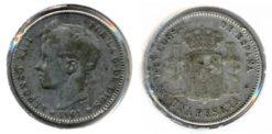 Spanje 1901 - 1 peseta