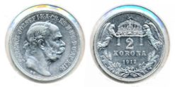 Oostenrijk 1912 - 2 Korona