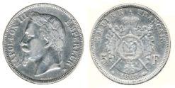 Frankrijk 1868BB - 5 Frank