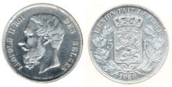Belgie 1868 - 5 Frank
