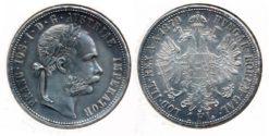 Oostenrijk 1879 - 1 Florin UNC