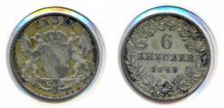 Oostenrijk 1849 - 6 Kreuzer