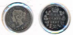 Canada 1887 - 5 cents