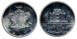 Malta 1974 - 4 Pond