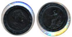 Groot Brittannie 1797 - 2 Pence