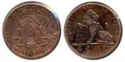 Belgie 1848 - 5 centimes