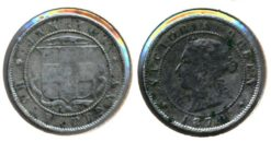 Jamaica 1870 - Half Pence