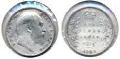 India 1904 - 1 Rupee