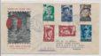 Nederland  1951 FDC Kind met getypt adres E4
