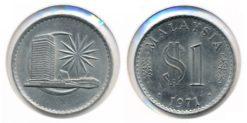 Maleisie 1971 - 1 Dollar