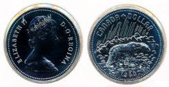 Canada 1980 - 1 Dollar Ijsbeer