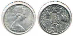 Australie 1966 - 50 cents