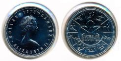 Canada 1978 - 1 Dollar Commonwealth Games
