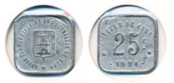 Frankrijk 1921 - 25 centimes Caen