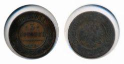 Rusland 1892 - 3 Kopeken