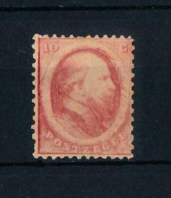 Nederland 1864 Koning Willem II - 10 cent rood NVPH 5 ongebruikt