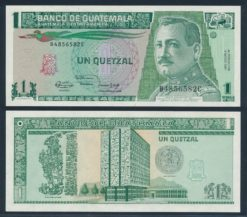 Guatemala 1991 1 Quetzal bankbiljet UNC Pick 73b